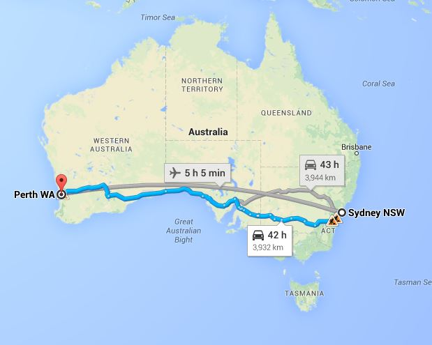 Sydney To Perth Removalists Interstate Removals United
