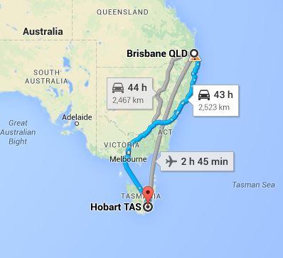 Brisbane To Hobart Removalists Interstate Removals