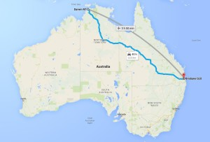 Darwin To Brisbane Removalists