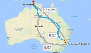 Wollongong-to-Darwin-Removalists