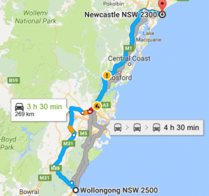 Wollongong-to-Newcastle-Removalists