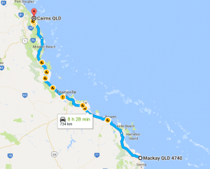 Mackay To Cairns Removalists Interstate Removals