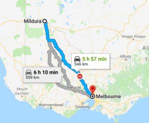 Mildura-to-Melbourne