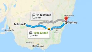Mildura-to-Sydney